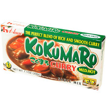 Kokumaro Curry Medium Hot 7.1 oz  From House Foods