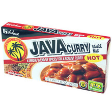 Java Curry Hot 7.8 oz  From House Foods