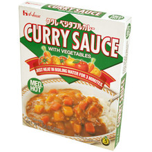 Curry Sauce Medium Hot Microwavable 7.4 oz  From House Foods