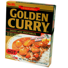 S&B Golden Curry Instant - Hot 8.1 oz  From S&B