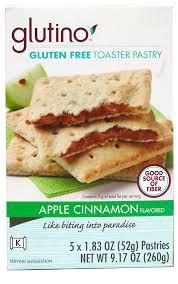 Apple Cinnamon, 6 of 9.17 OZ, Glutino
