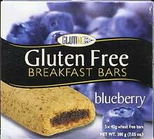 Blueberry, 12 of 7.1 OZ, Glutino
