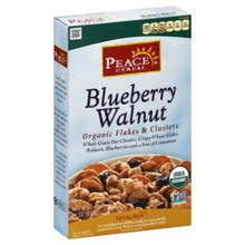 Blueberry Walnut, 6 of 11 OZ, Peace Cereal