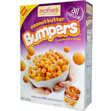 Bumpers, Peanut Butter, 14 of 12.3 OZ, Mother'S