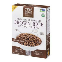 Brown Rice Cacao Crisps, 6 of 10 OZ, One Degree Organic Foods