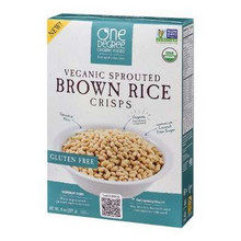 Brown Rice Crisps, 6 of 8 OZ, One Degree Organic Foods