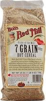 7 Grain, Hot, 4 of 25 OZ, Bob'S Red Mill