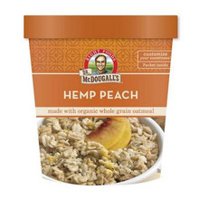 Hemp Peach Oatmeal, GF, 6 of 3 OZ, Dr. Mcdougall'S