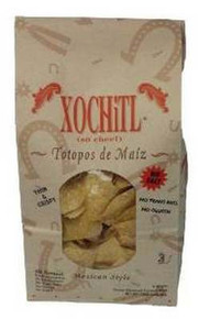 Corn Chips No Salt, 10 of 12 OZ, Xochitl