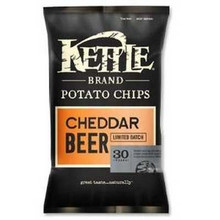 Cheddar Beer, 12 of 8.5 OZ, Kettle Foods