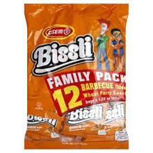 Bissli Multipack, BBQ, 4 of 12 of 1.23 OZ, Osem