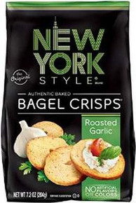 Bagel Crisp, Garlic, 12 of 7.2 OZ, New York Style