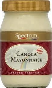 Mayonnaise, Canola, 12 of 16 OZ, Spectrum Naturals