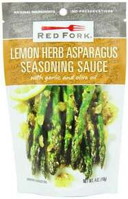 Asparagus, Lemon Herb, 8 of 4 OZ, Red Fork