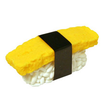 Egg Sushi Eraser  From Iwako