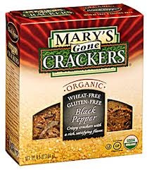 Black Pepper, 12 of 6.5 OZ, Mary'S Gone Crackers