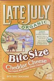 Cheddar Cheese, Bite Size, 12 of 5 OZ, Late July
