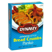 Bread Crumbs, Panko, 12 of 3.5 OZ, Dynasty