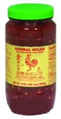 Chili, Sambal Olek, 12 of 18 OZ, Huy Fong