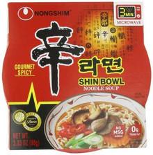 Noodle Bowl, Shin, 12 of 3.03 OZ, Nong Shim
