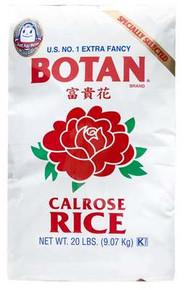 Calrose, 20 LB, Botan Rice