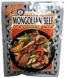Mongolian Beef Mix, 24 of 1 OZ, Kikkoman International Inc