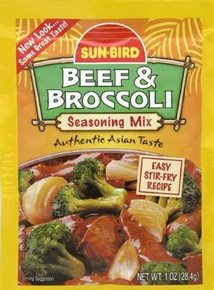 Beef & Broccoli, 12 of 1 OZ, Sunbird