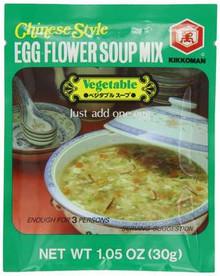 Egg Flower, Spicy Vegetable, 12 of 1.1 OZ, Kikkoman International Inc