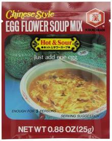 Egg, Hot & Sour, 12 of 0.88 OZ, Kikkoman International Inc