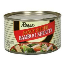 Sliced Bamboo Shoots, 8 OZ, Reese