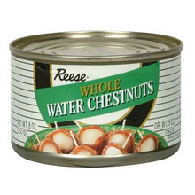Waterchestnuts, Whole, 24 of 8 OZ, Reese