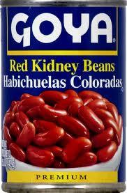 Beans, Red Kidney, 24 of 15.5 OZ, Goya