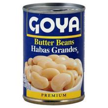 Butter Beans, 24 of 15.5 OZ, Goya