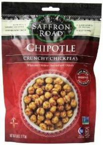 Chipotle Crunch Chickpeas, 8 of 6 OZ, Saffron Road
