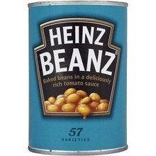 Beans, Baked, 24 of 13.7 OZ, Heinz