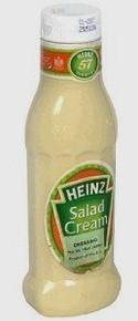 Salad Cream, Squeez Bottle, 12 of 15 OZ, Heinz
