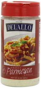 Grated Parmesan, 12 of 8 OZ, De Lallo