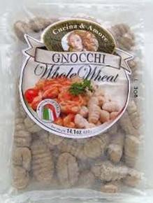 Gnocchi, Whole Wheat, 12 of 14.1OZ, Cucina & Amore