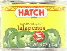 Jalapenos, Sliced, 12 of 4 OZ, Hatch