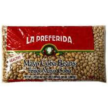 Beans, Mayo Coba, 12 of 2 LB, La Preferida