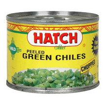 Green Chiles, Peeled/Chopped/Mild, 24 of 4 OZ, Hatch