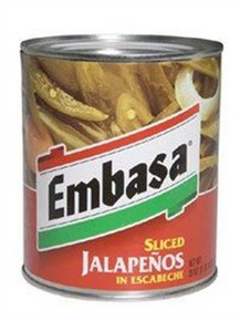 Jalapeno in Escabeche, 12 of 26 OZ, Embasa