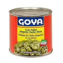 Pickled Nacho Slices, 12 of 11 OZ, Goya