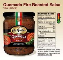 Fire Roasted, Quemada, 6 of 16 OZ, Casa Martinez