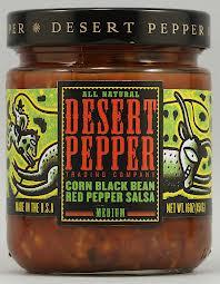 Corn, Black Bean, Rstd Red Pepper, 6 of 16 OZ, Desert Pepper Trading Co