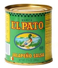 Green Jalapeno, 24 of 7.75 OZ, El Pato