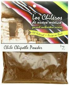 Chipotle, Powder, 12 of 3 OZ, Los Chileros