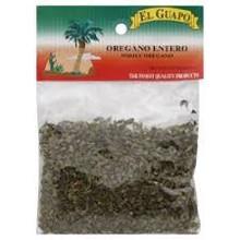 Oregano, Mexican, Whole, 12 of 0.5 OZ, El Guapo