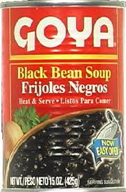Black Bean Soup, 24 of 15 OZ, Goya