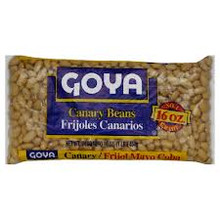 Canary Beans, Dry, 24 of 16 OZ, Goya